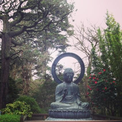 Japanese Tea Garden by Rosella Martinez