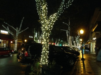 Palo Alto at night