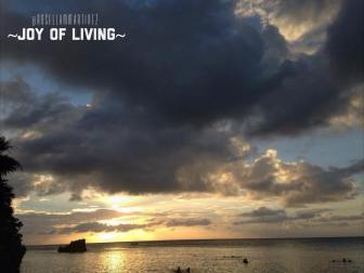 Sunset at Roatan, Bay Islands 2014